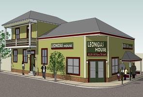 Leonidas House rendering